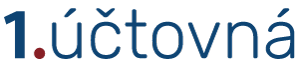 1.účtovná, spol s r.o. Logo